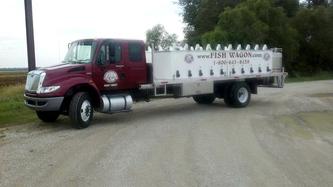 the fish wagon visits Crockett Farm & Fuel